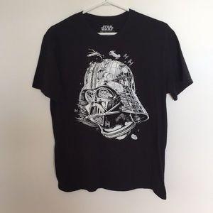 Star Wars Large Black T-shirt